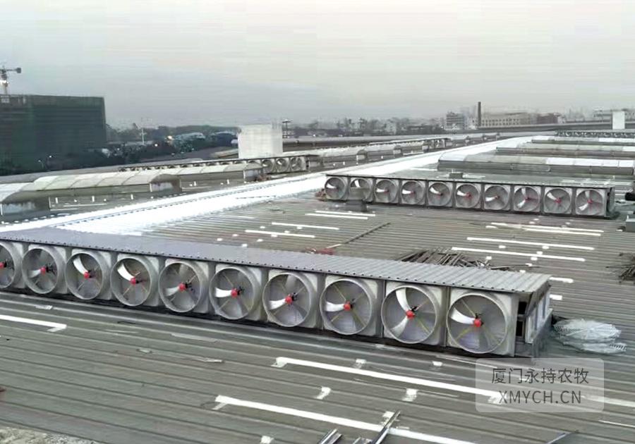 厦门负压风机屋顶通风工程案例