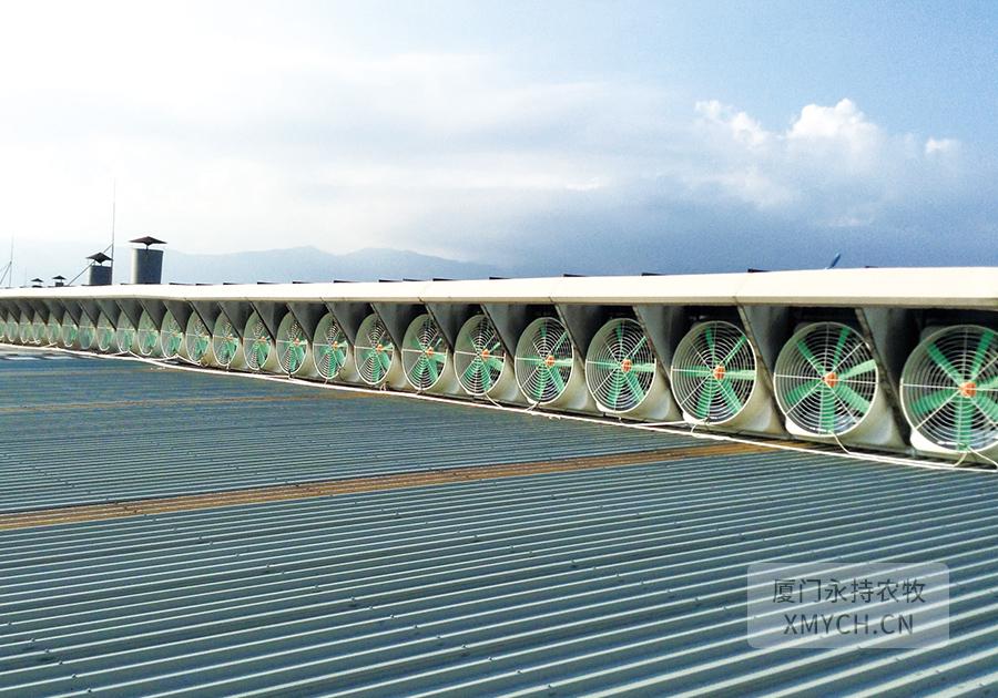 漳州负压风机工程案例